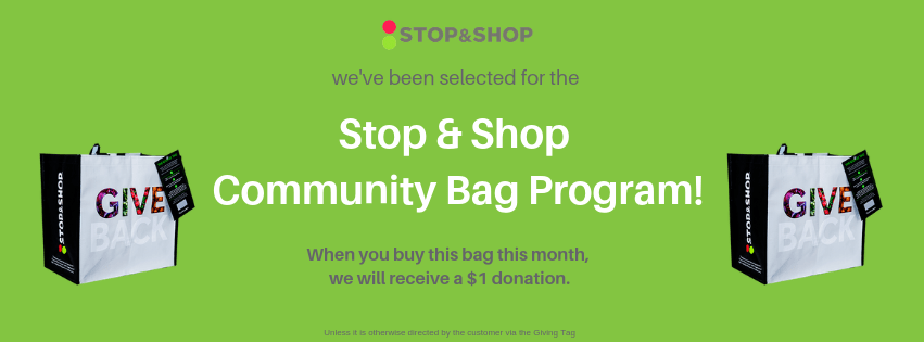 Colored Stop & Shop Community Bag Cover Photo
