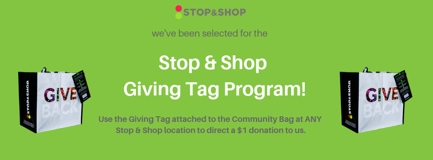 Colored Stop & Shop Giving Tag Cover Photo